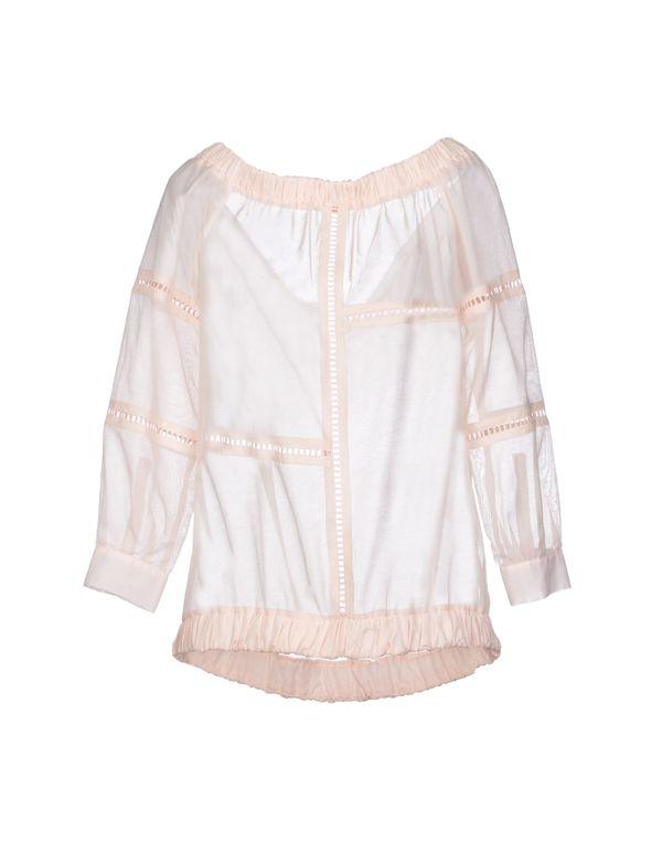 浅粉色 PINKO 女士衬衫