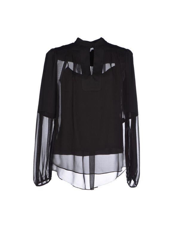 黑色 DIANE VON FURSTENBERG 女士衬衫
