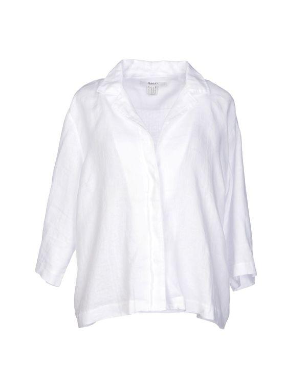 白色 GANT Shirt