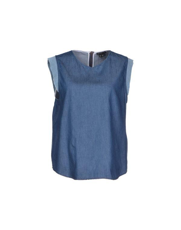 蓝色 THEORY 上衣