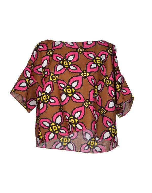 棕色 ASPESI 女士衬衫