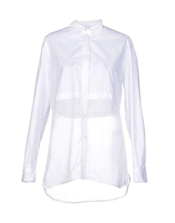 白色 PINKO Shirt