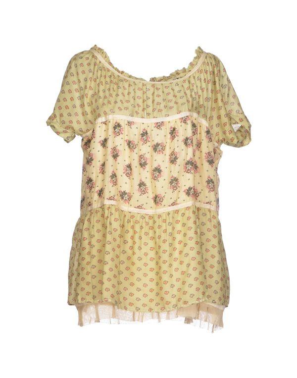 米色 TWIN-SET SIMONA BARBIERI 女士衬衫