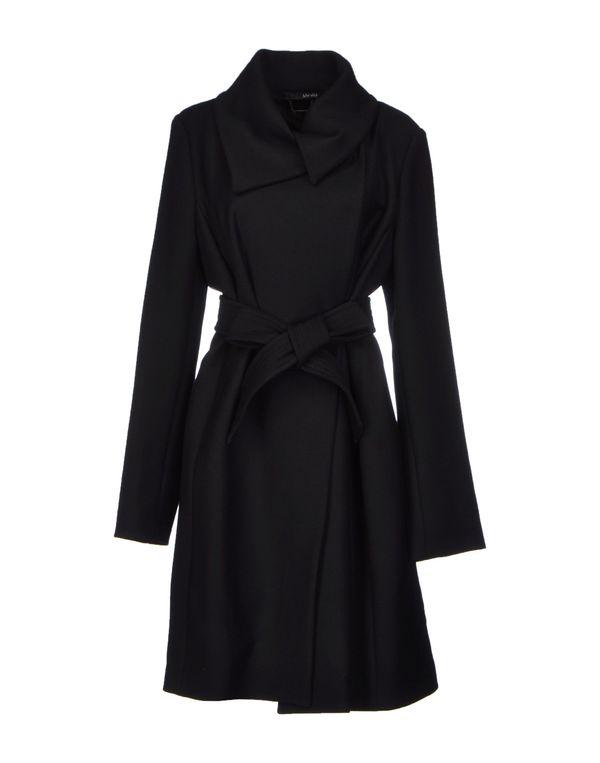 黑色 LIU •JO 大衣
