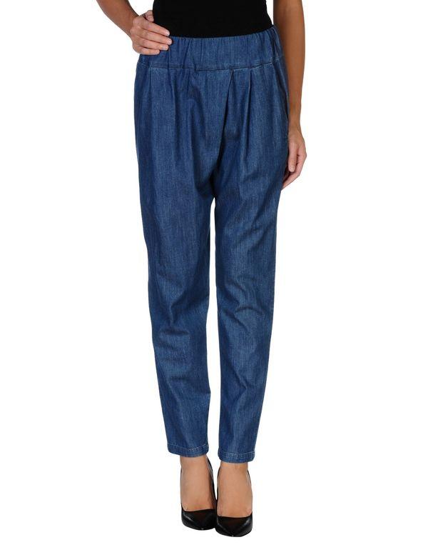 蓝色 PENNYBLACK 牛仔裤