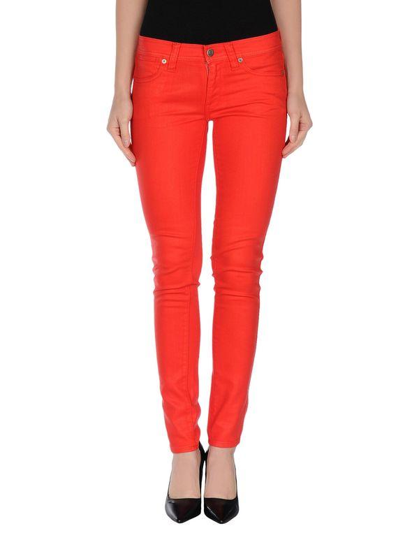 红色 RALPH LAUREN 牛仔裤