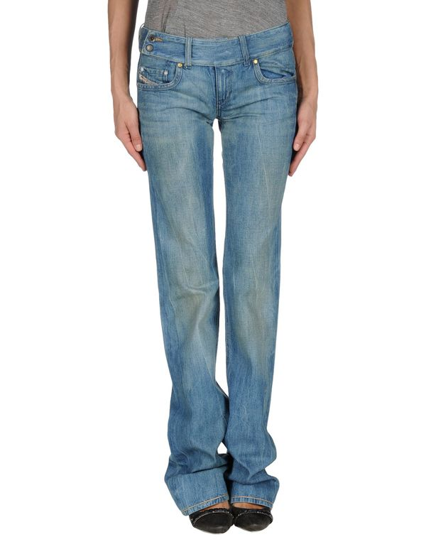 蓝色 DIESEL 牛仔裤