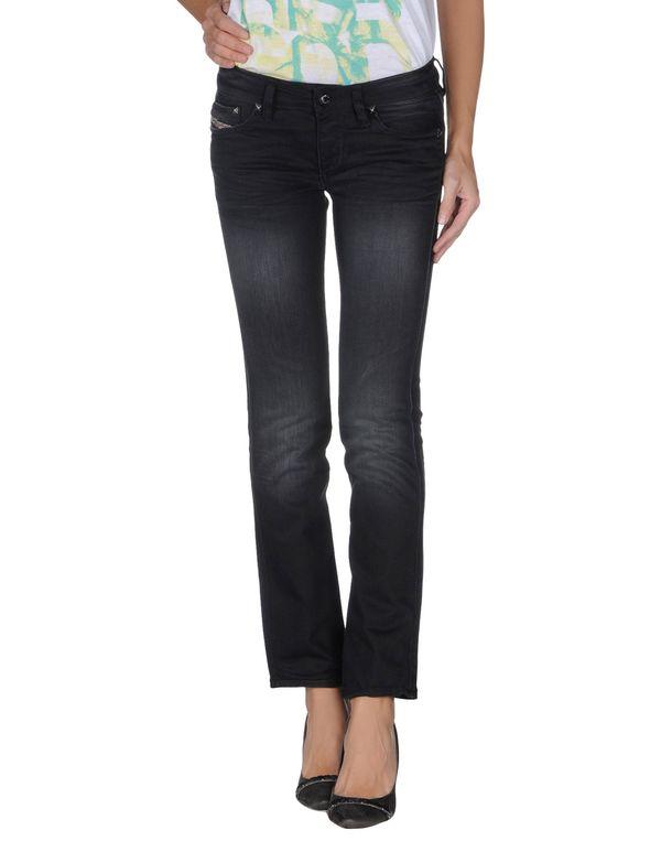 黑色 DIESEL 牛仔裤