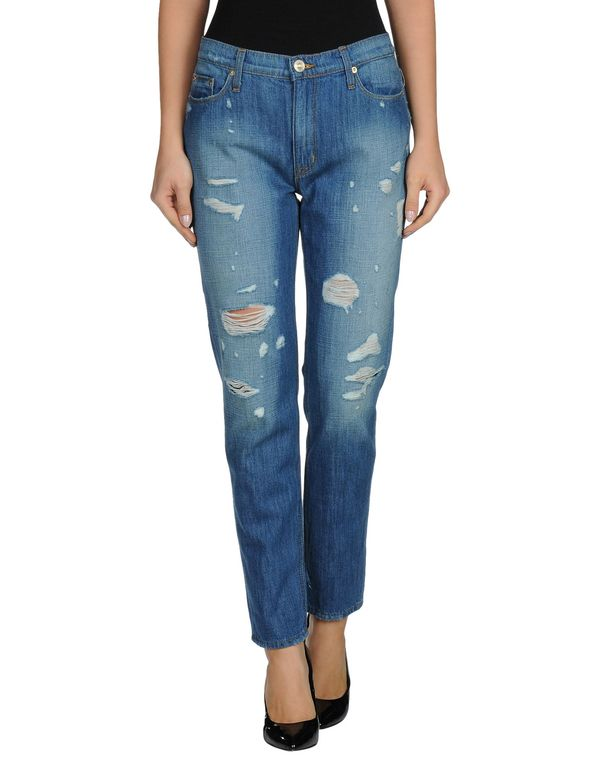 蓝色 HUDSON 牛仔裤
