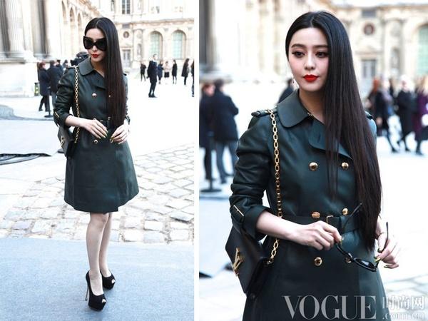 时装周华语女星风衣搭配攻略