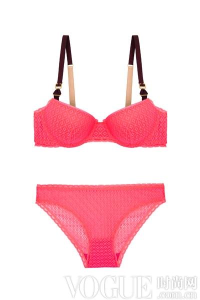Stella McCartney 推出霓虹粉色内衣套装支持世界乳腺癌防治月