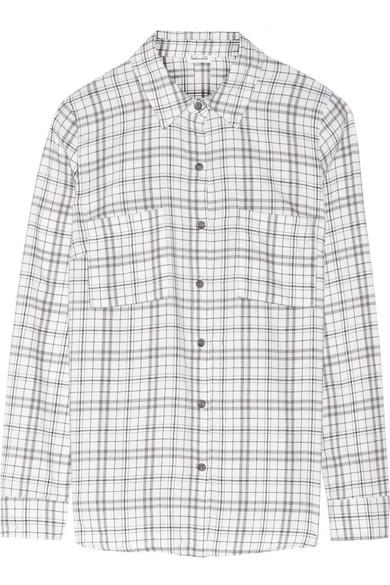 Hayes 方格纯棉衬衫