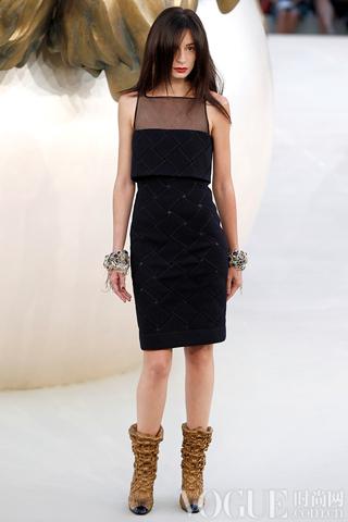 Chanel2010秋冬时装秀