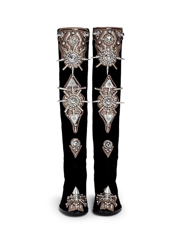 连卡佛BLITZ全球独家 STUART WEITZMAN与三位设计师联手创作50/50长靴限量版