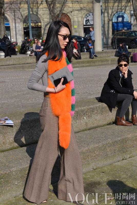 米兰时装周街拍日记Day 4