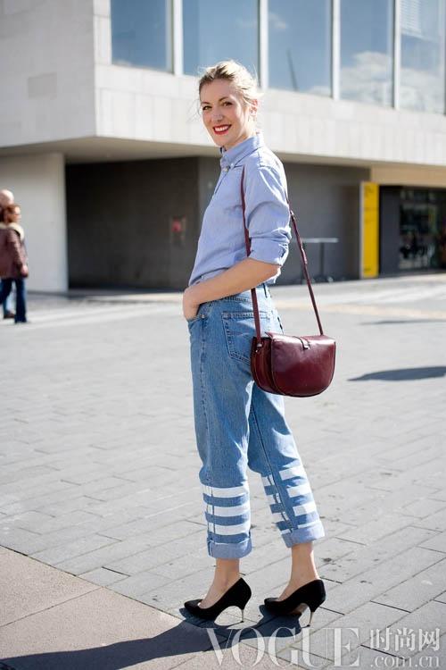 摩登新女性 最美职业装街拍