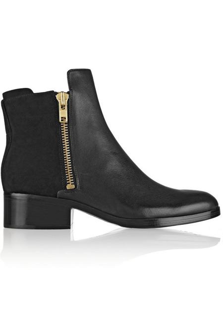3.1 Phillip Lim皮革及踝靴