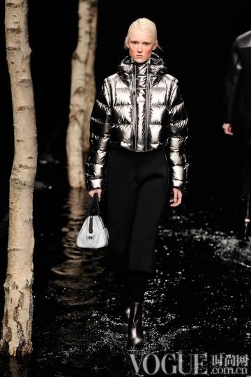 2014秋冬款型趋势:时髦羽绒服