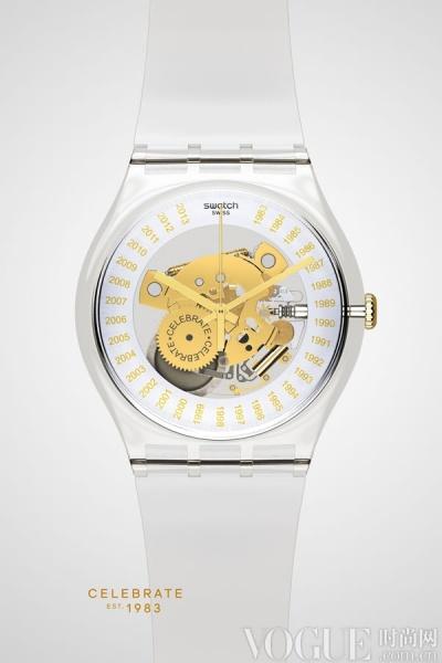 斯沃琪30周年特别款腕表