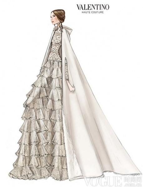 那些皇室婚礼上的绝美婚纱