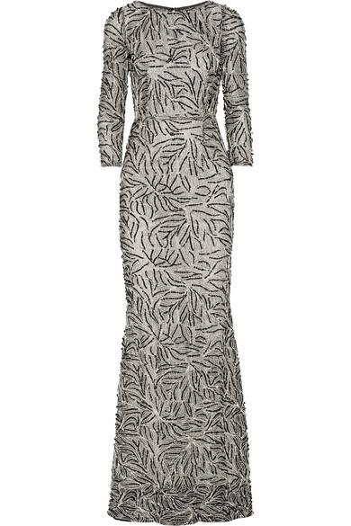 Jae 缀饰绢网礼服