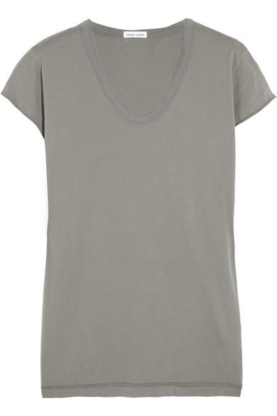 纯棉针织 T 恤