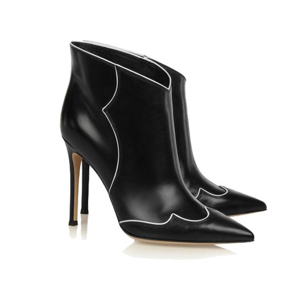 尖头踝靴新品推荐:Gianvito Rossi