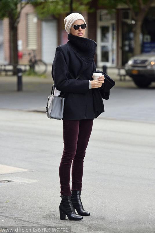 毛线帽保暖亦有型