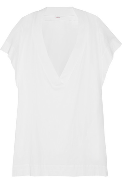 Zephyr Renee 纯棉针织长罩衫裙