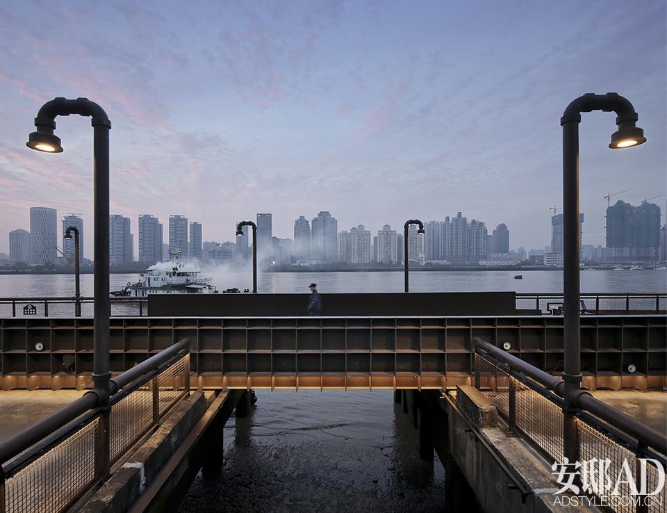 杨浦滨江公共空间一期