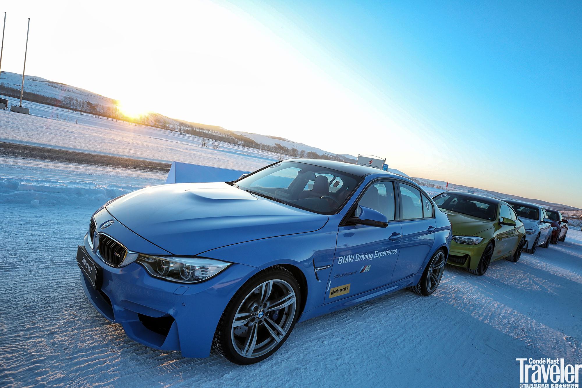 BMW冰雪驾驶培训全面启动,挑战严寒之境