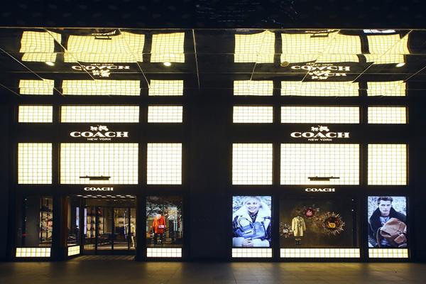 蔻驰旗舰店_COACH中国旗舰店开幕盛典上海HKP香港广场