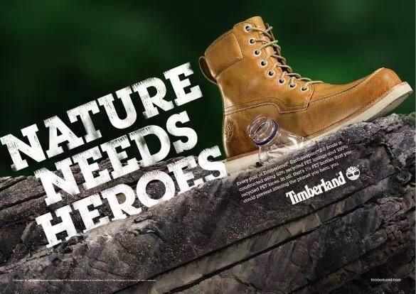 Timberland 邀您世界地球日一同爱惜环境守护地球
