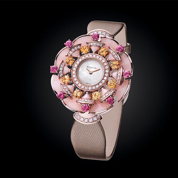 BVLGARI宝格丽2015全新DIVA系列珠宝腕表