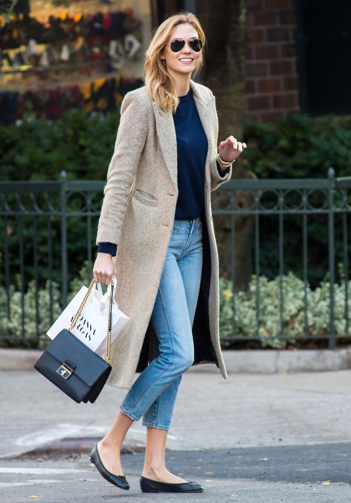 穿上这些平底鞋舒舒服服就时髦,为什么不呢?