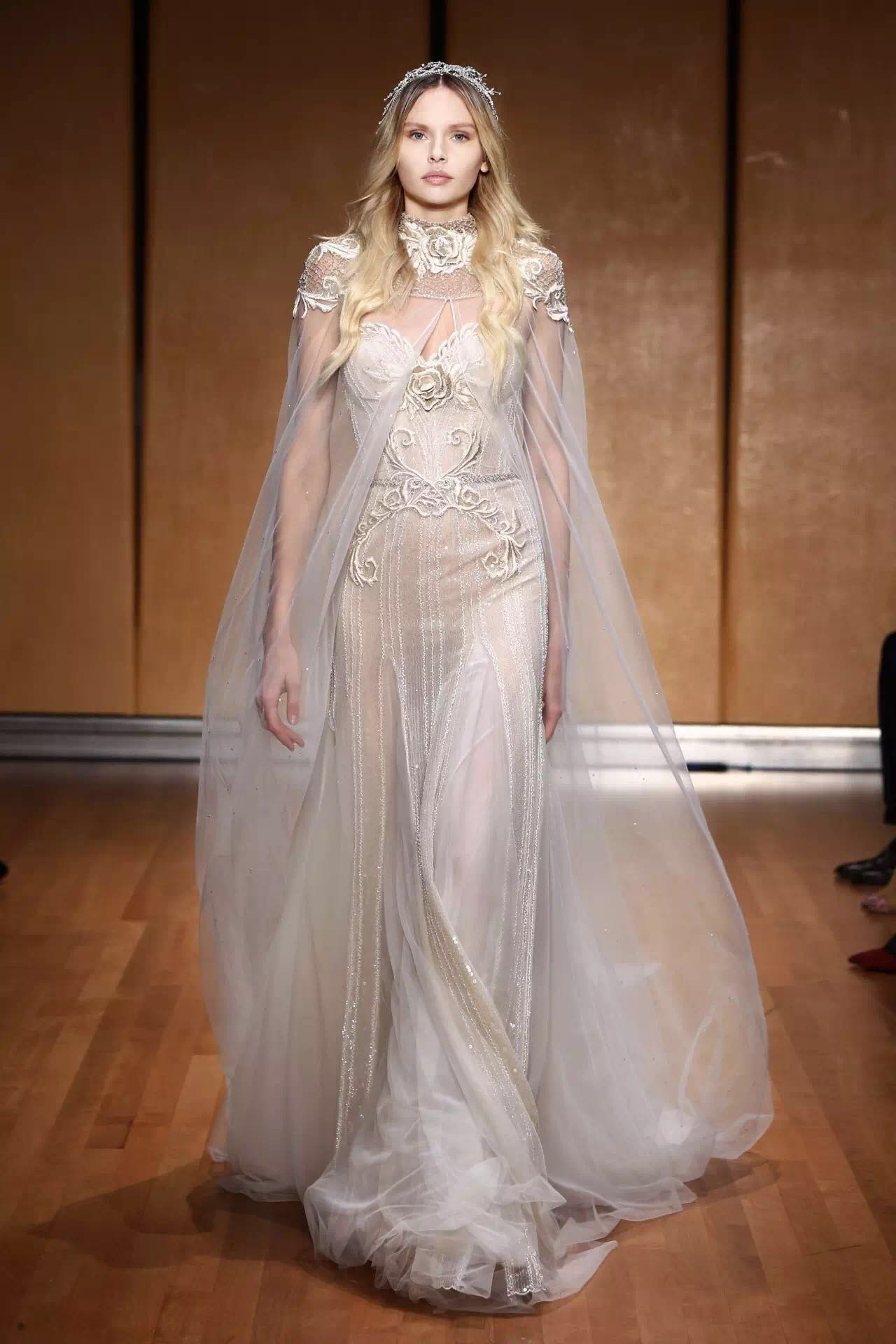 婚纱周最美的30件婚纱,它们是所有的梦幻想象