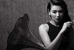 刘涛独家写真:黑白电影女主角