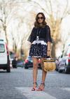 最流行的凉鞋街拍达人怎么穿