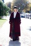 冬日混搭法则 穿上纱裙做轻盈仙女