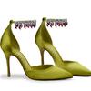 BVLGARI宝格丽与著名鞋履设计师MANOLO BLAHNIK 携手打造璀璨珠宝高跟鞋