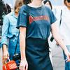 T恤+半裙 很简单但能美一个夏天