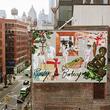 Burberry携手艺术家Blondey McCoy于曼哈顿创作壁画