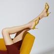 GIANVITO ROSSI推出夏日色调——编织鞋履系列