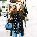 春天的时髦 就是一件毛衣外套配所有