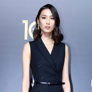 中国超模薛冬琪现身VOGUE十周年盛典