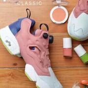 Reebok x Face Stockholm当球鞋遇上彩妆