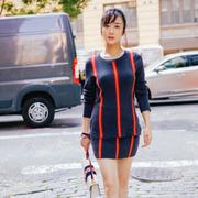 李依晓受邀纽约时装周Lacoste大秀 崭新形象令人眼前一亮