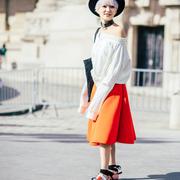 2017春夏巴黎时装周街拍 Day2