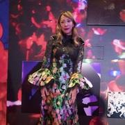 蜷川实花佩戴NIRAV MODI妮华莫迪JASMINE系列 出席上海个人作品展开幕式