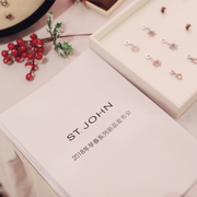 ST.JOHN 2018早春系列 极致演绎浪漫复古
